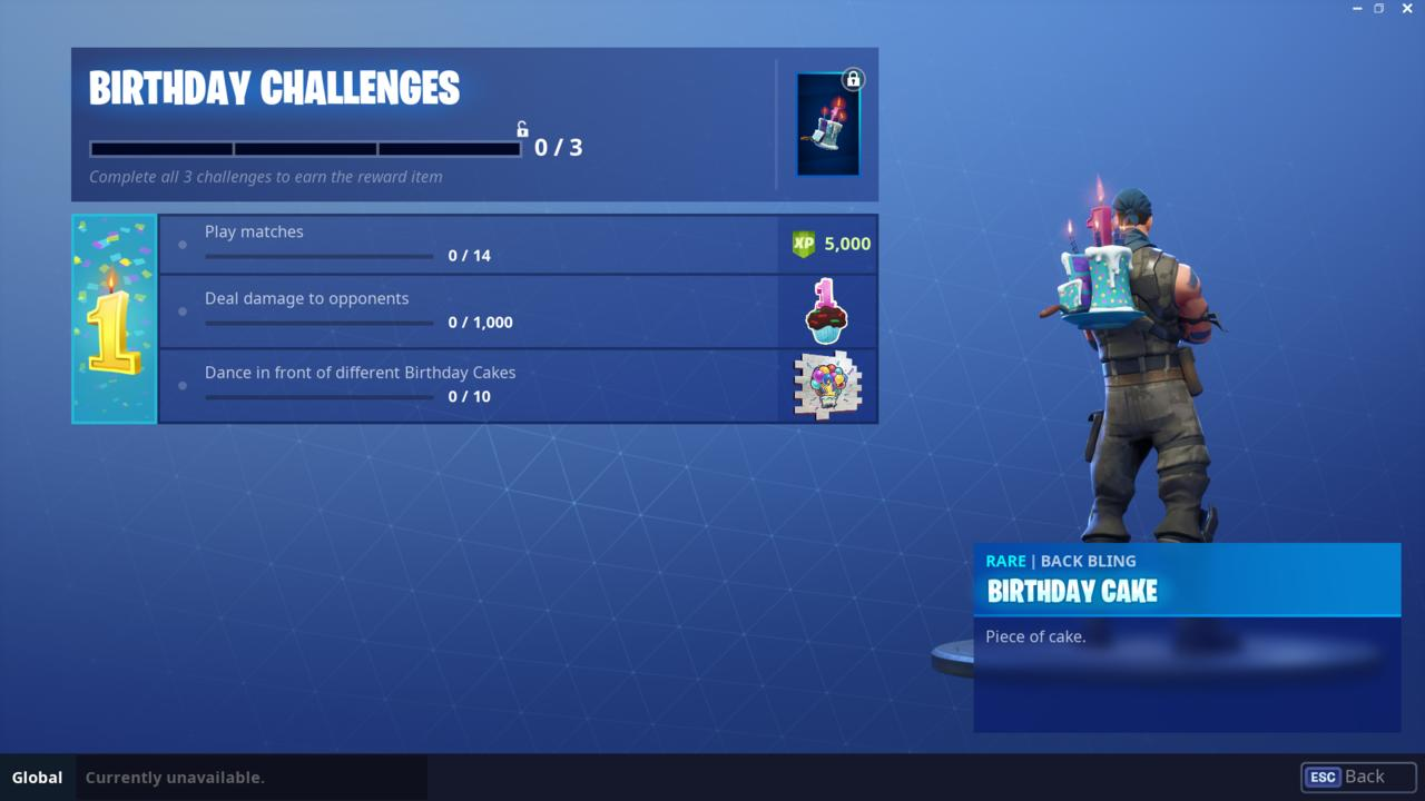 Fortnite Birthday Cake Guide: Where to Locate all the Cakes?