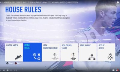 New FIFA 19 Mode will Introduce a New Exciting Format for the Players