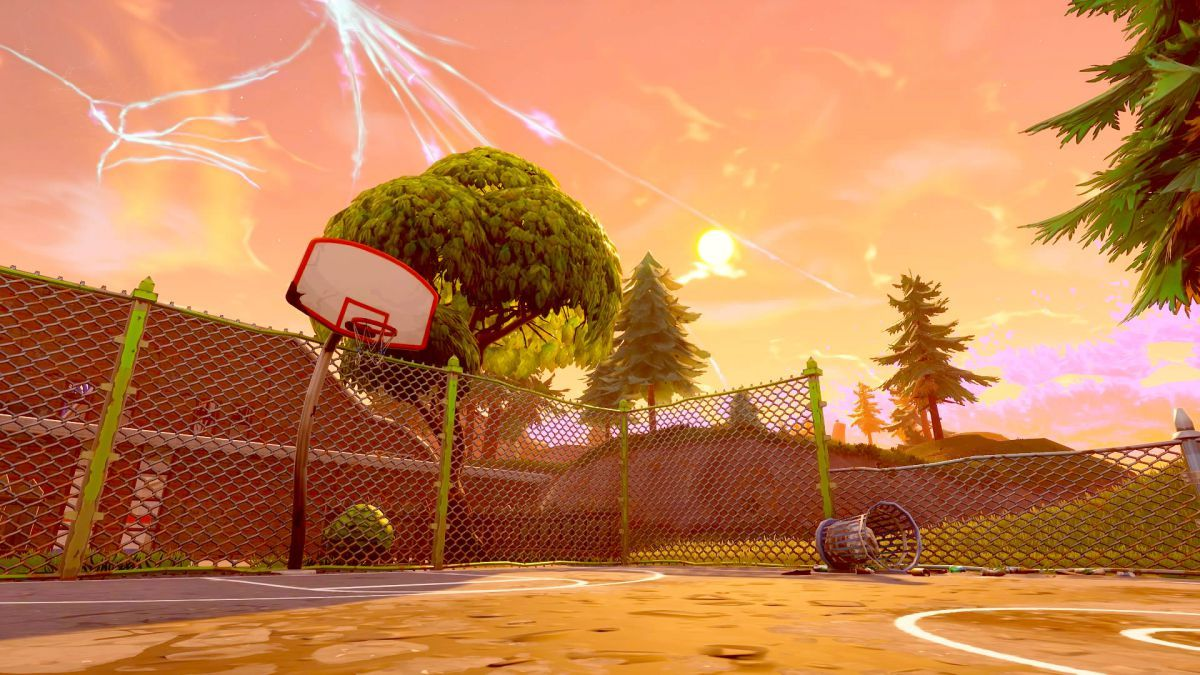 Fortnite Basketball Hoop Guide: Where to Find the Basketball Courts?