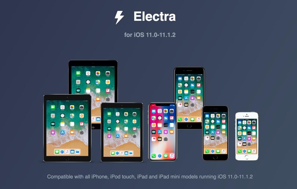 iOS jailbreak Electra1131