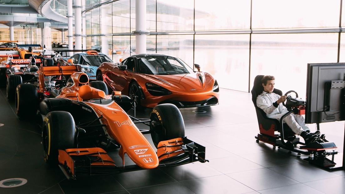 McLaren's eSports Competition
