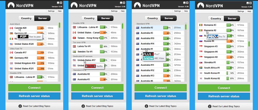 Nord VPN Server
