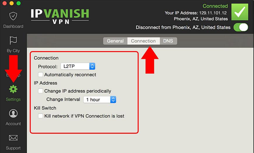 IPVanish VPN Server