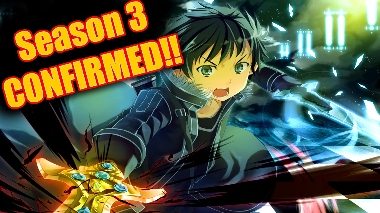 Sword Art Online Season 3 Trailer is out Now!