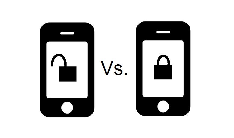 Unlocked phones vs. locked ones