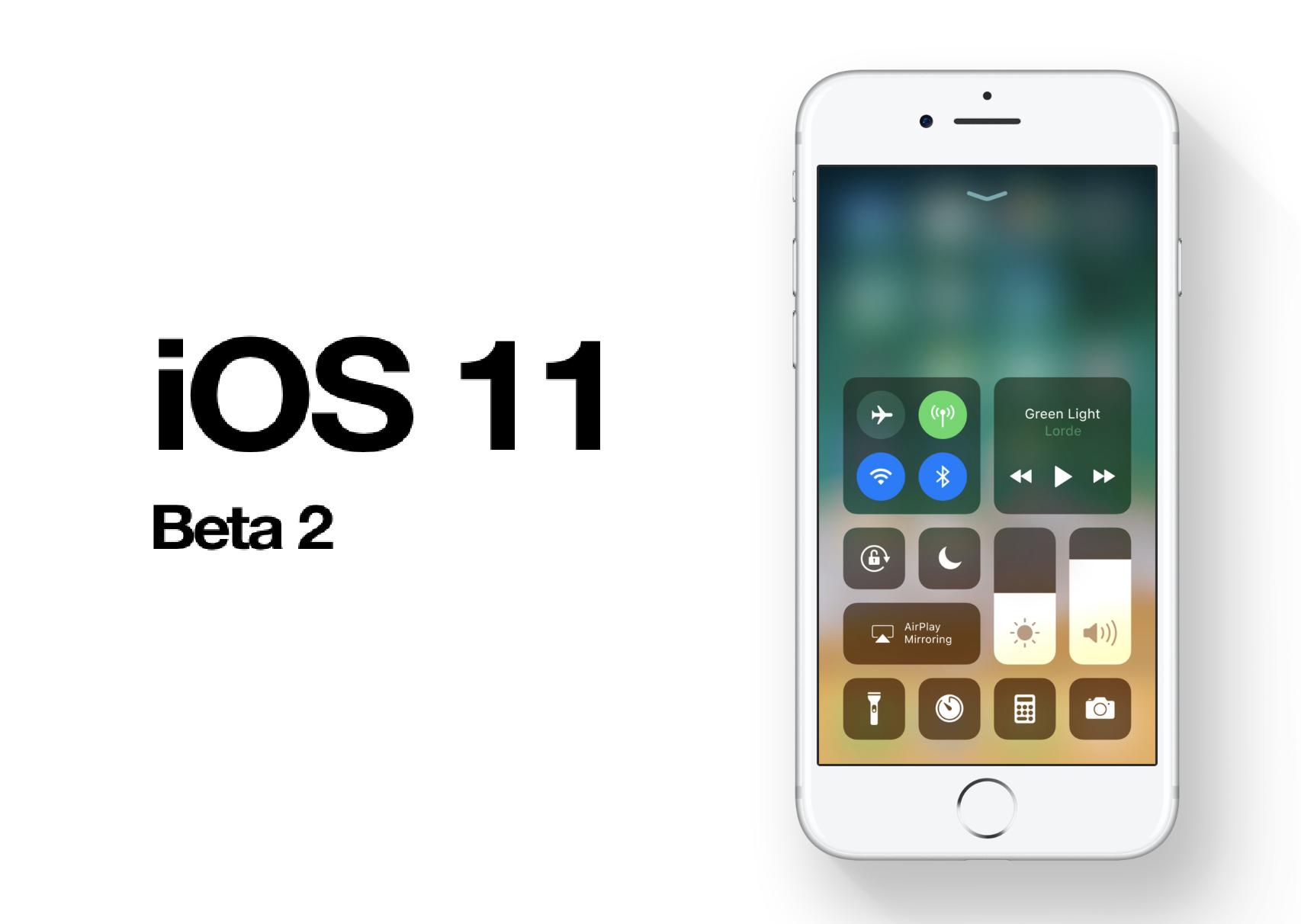 Apple launches iOS 11 Beta 2