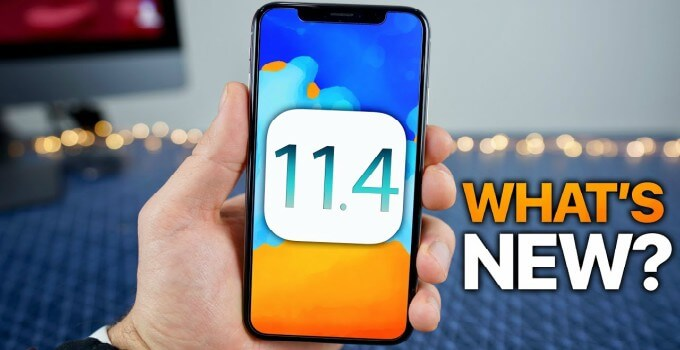 Apple iOS 11.4.1 Is Now Available