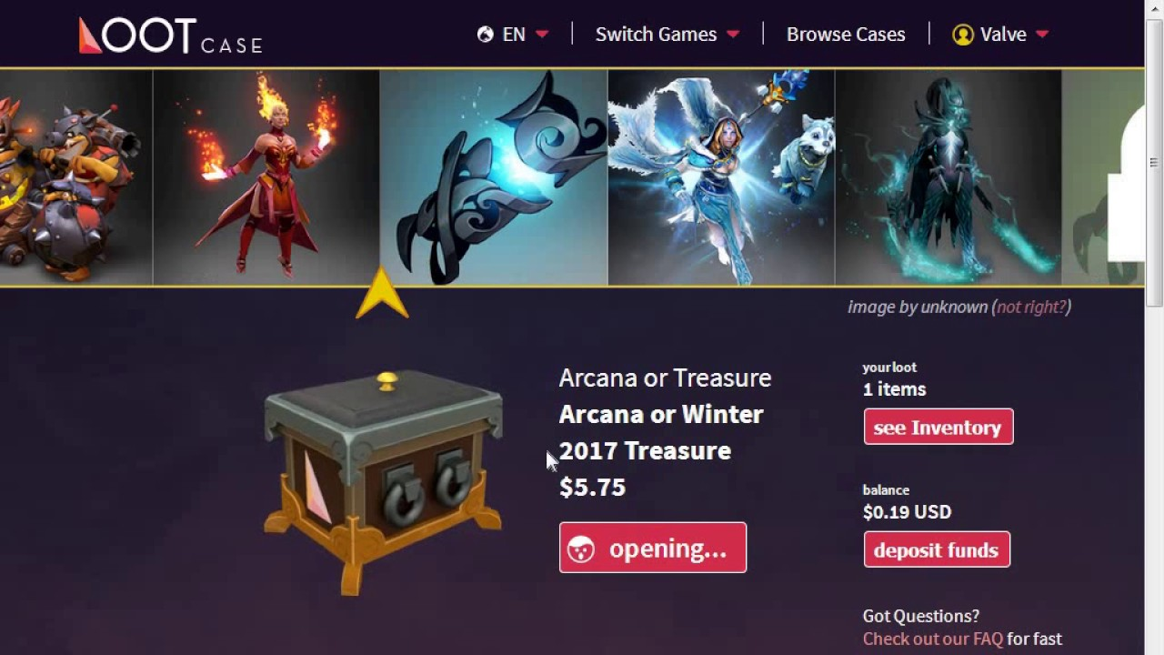 Dota 2 Loot Box Rewards will be Revealed to the Players Beforehand