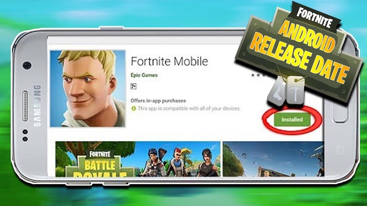 Fortnite Android Release Date News; The Game may Arrive Sooner than Expected.