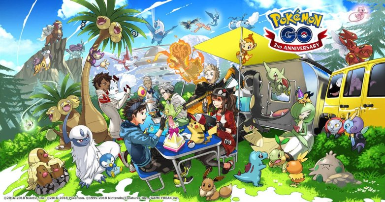 Pokemon GO; introduces new Pokemon in its Generation 4 Update