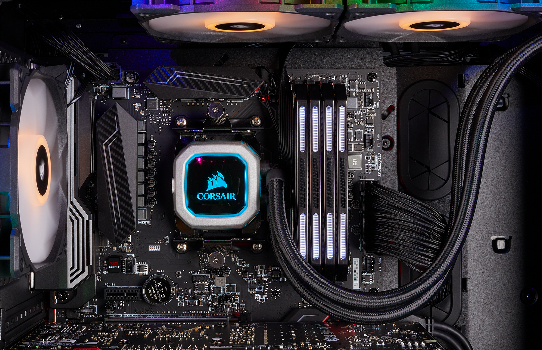 Corsair H100i Pro will Feature a Zero RPM Fan Mode in Updated Release