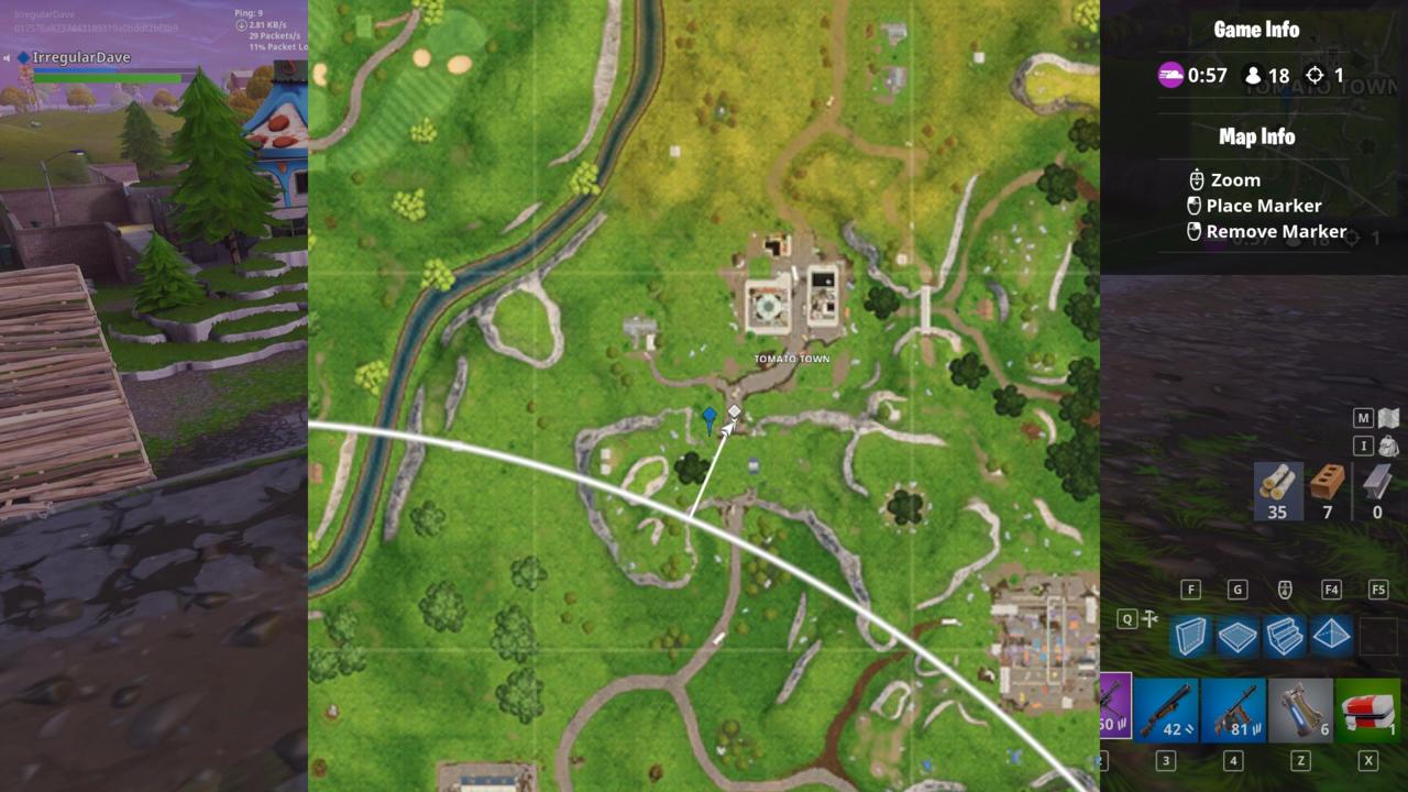 Fortnite Season 5 Guide: Location of Risky Reels Treasure Map