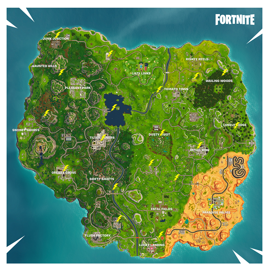 Fortnite Challenge Guide