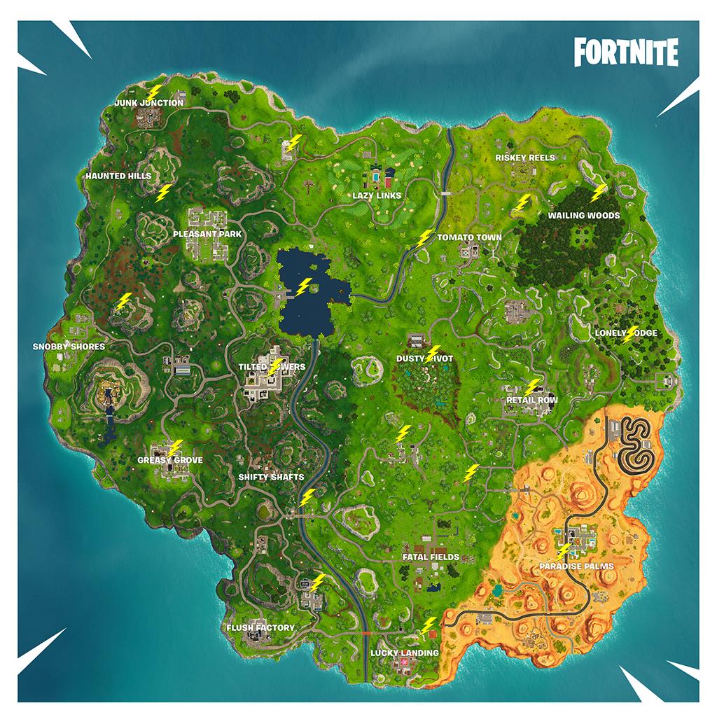 Fortnite Challenge Guide