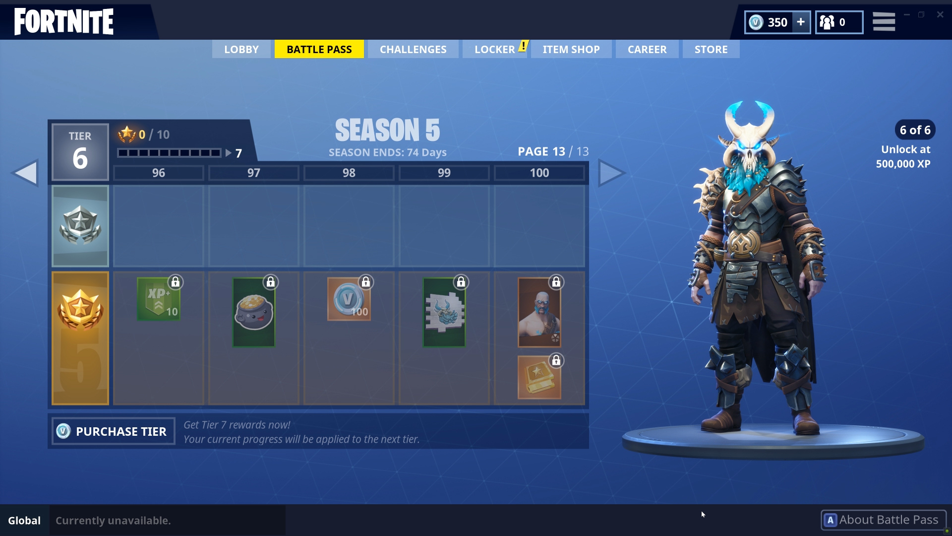 Fortnite New Battle Pass Reward 'Ragnarok Skin' is a Sight to Behold