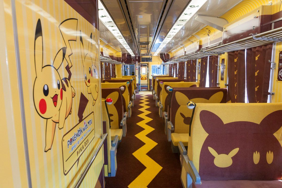 Lets Go Pikachu And Lets Go Eevee – Japan Themed Train