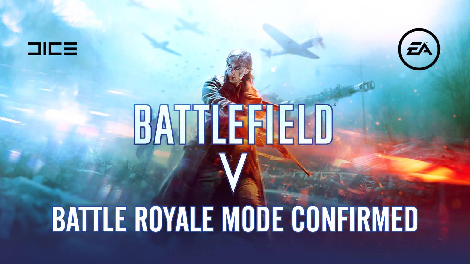 Battle Royale Battlefield V- EA Has Released The New Trailer
