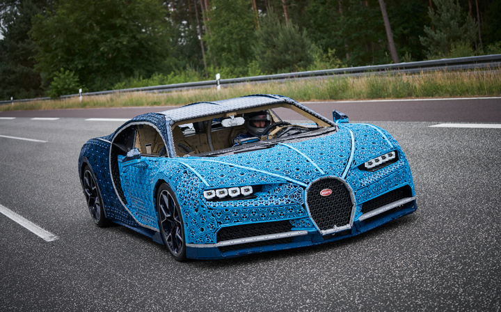 Lego Finally Builds A Life Size Drivable Car Which Is More Like Bugatti