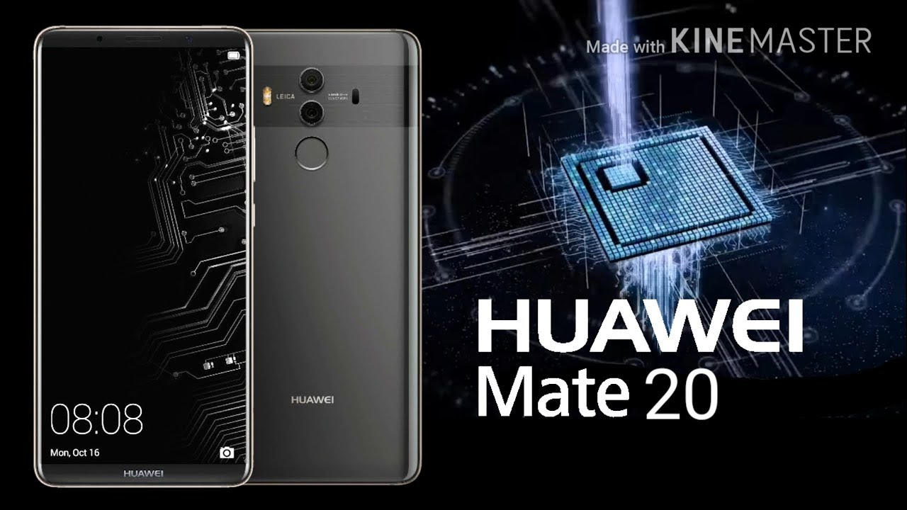 Huawei Mate 20- Leaked Specifications and Look