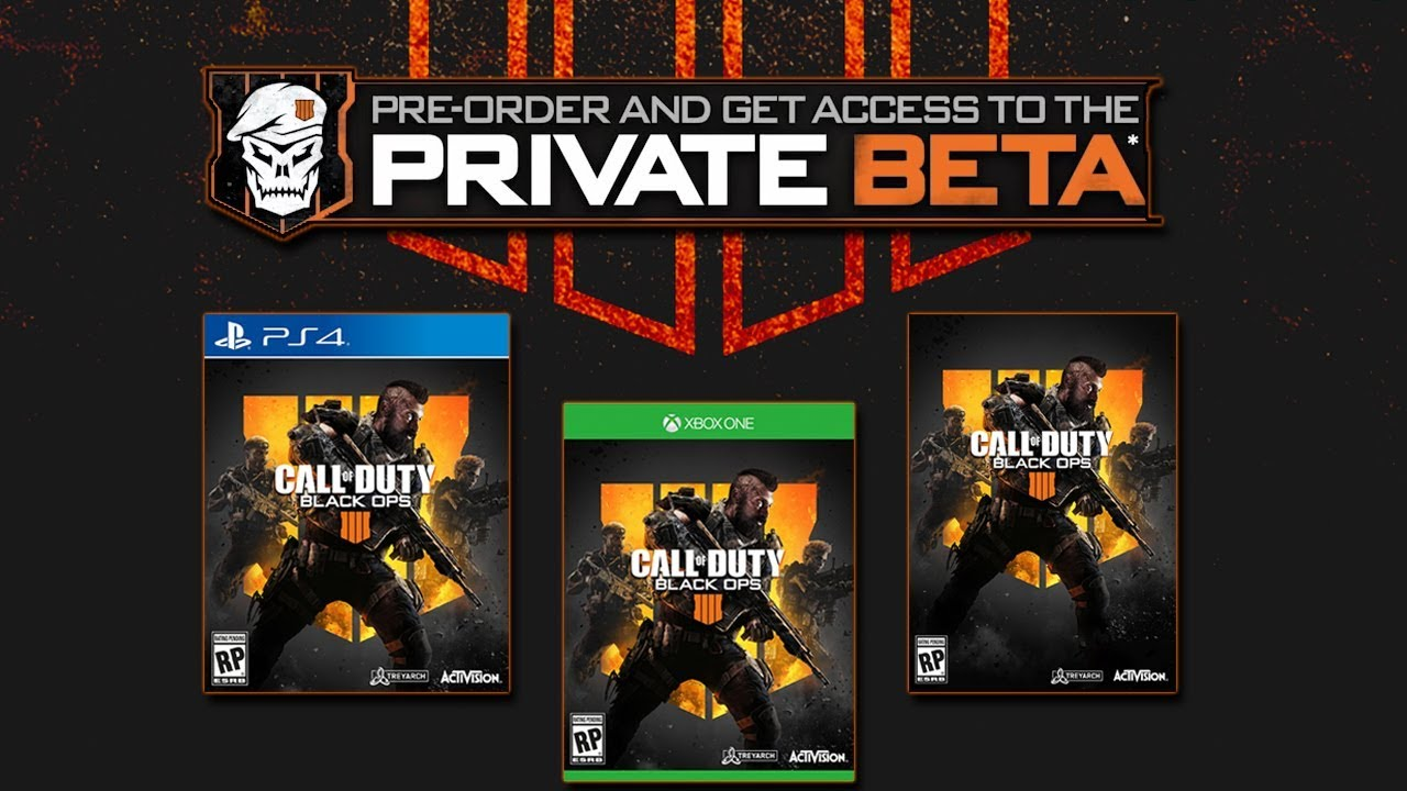Call of Duty Black Ops 4 Beta Size will not go Easy on your Storage
