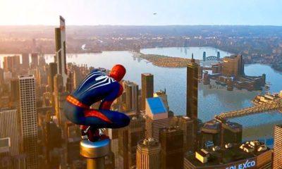 Spiderman PS4 Climbing Mechanics will be Similar to Assassin Creed Leap of Faith