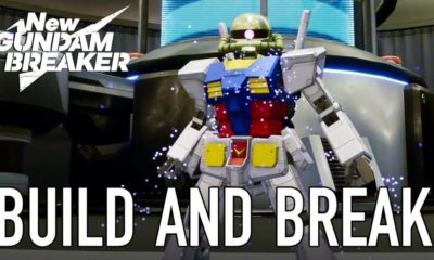 New Gundam Breaker Will Be Available For PC Gamers This Week