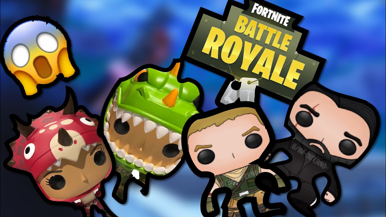 Fortnite Funko Pops Check Out The All New 14 Of The Game