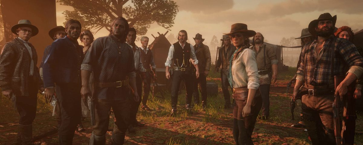 Red Dead Redemption 2 – Time To Meet The Gang Members