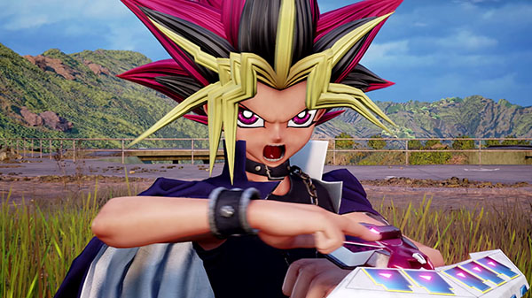 Jump Force Yugi trailer