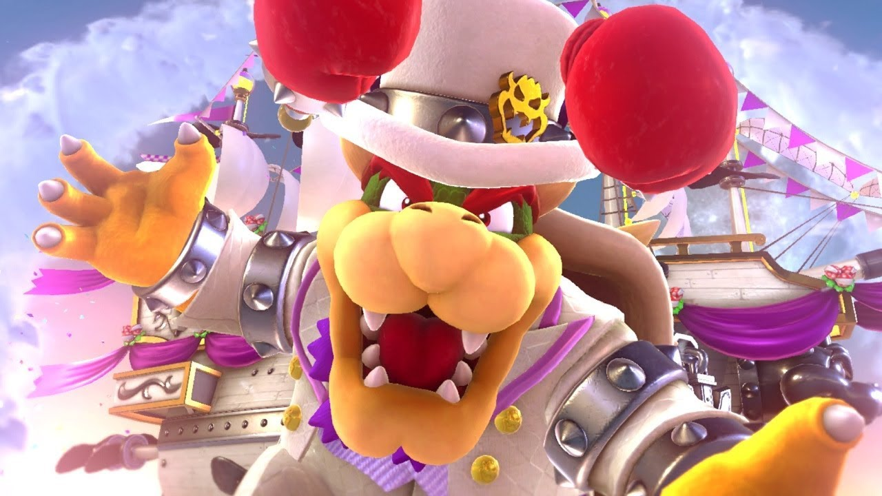 Super Mario Odyssey – Bowsette Was Almost Made Official In The Game