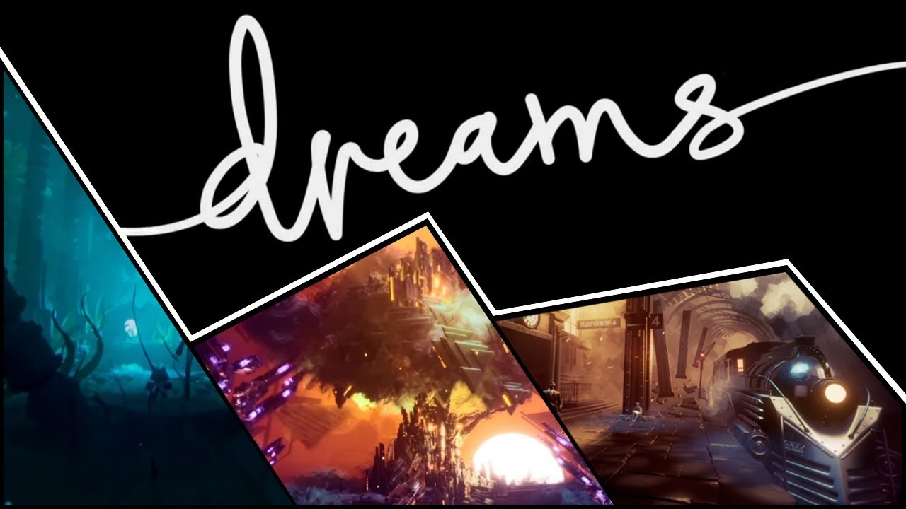 16 minutes of Dreams gameplay, where you can create your dream game