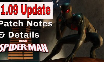 Spider-Man PS4 1.09 Update – Check Out What's New In The Game