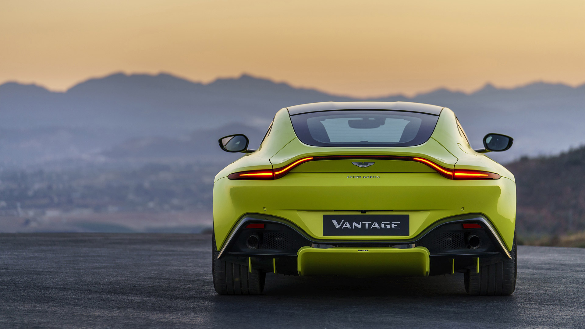 2019 Aston Martin Vantage 503 Bhp With Twin Turbo Housed On An Amg