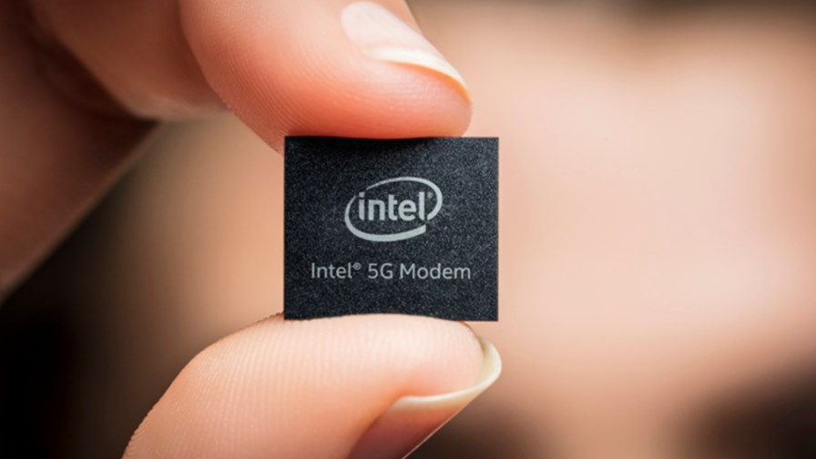Intel 5G Modem Chip