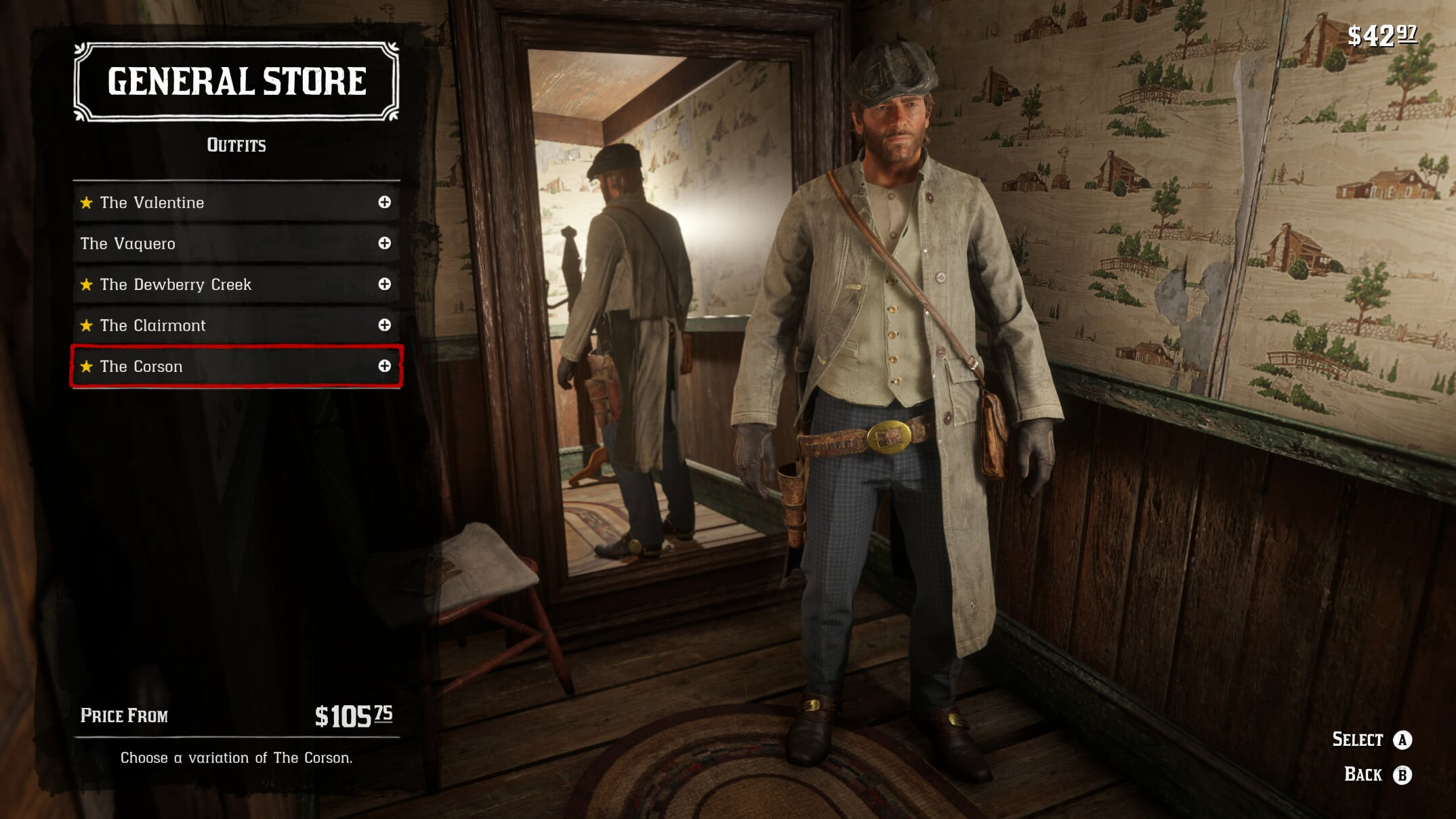 Red Dead Redemption 2 – How to Change Clothes in The Game