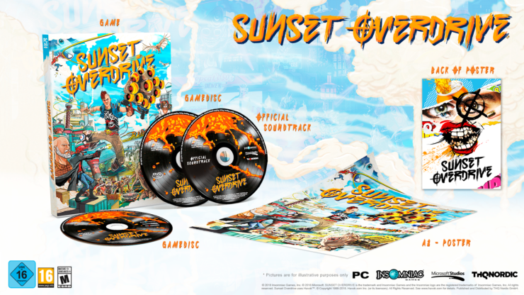 sunset overdrive comes today on windows 10 pc