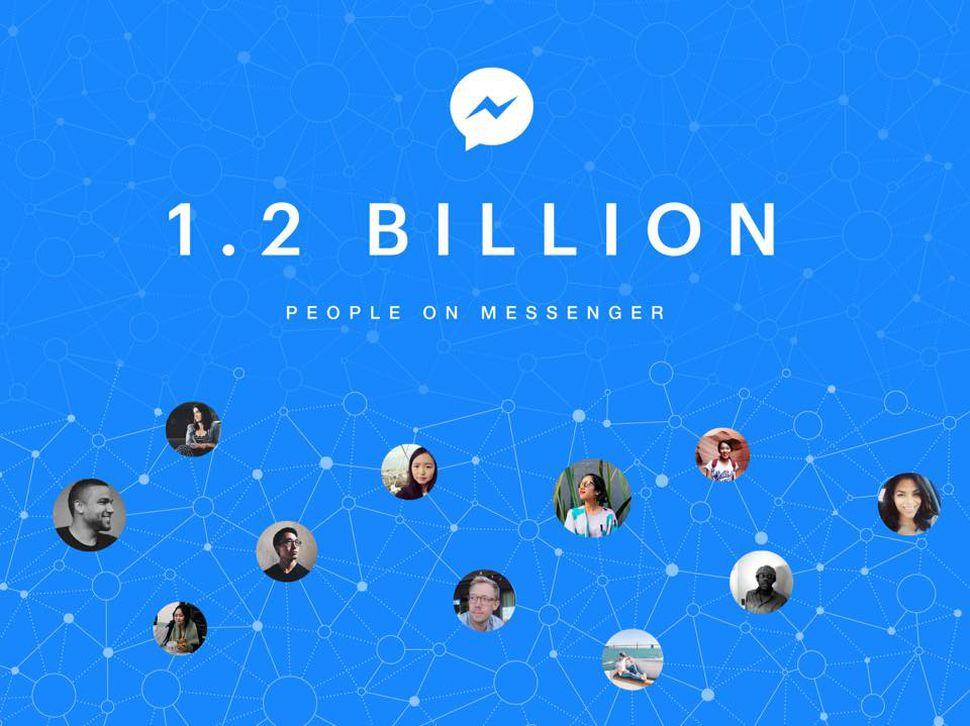 facebook messenger 1.2 billion