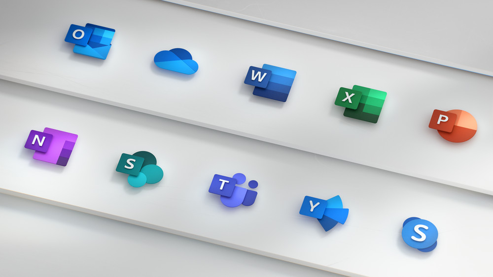 Microsoft's new Office icons are a familiar idea in simpler new form