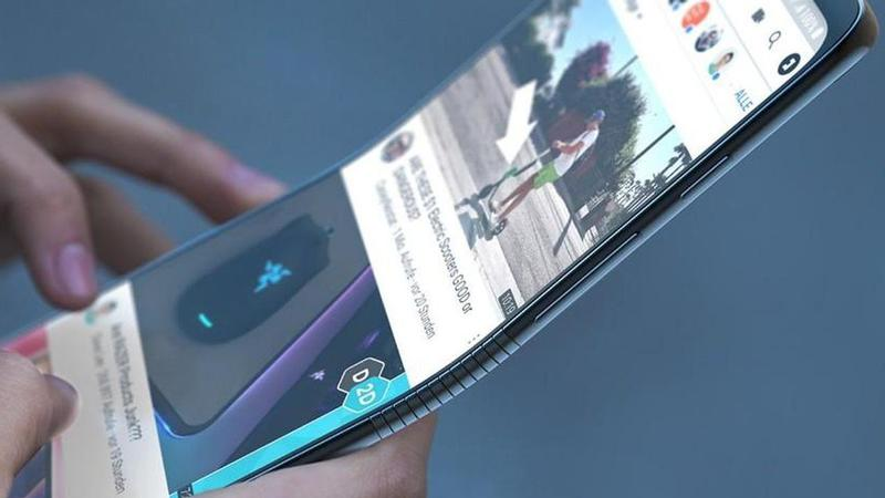 New Foldable Smartphone by Samsung
