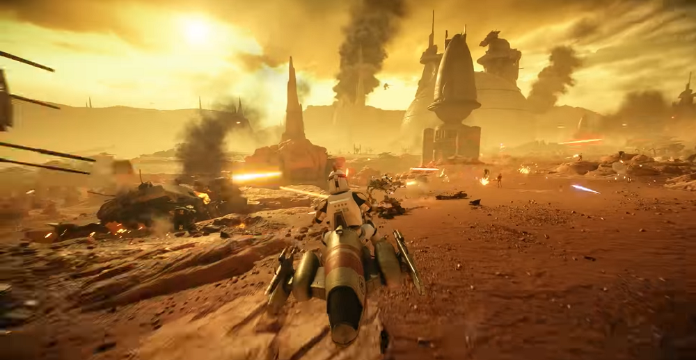 Star Wars Battlefront II: Battle of Geonosis