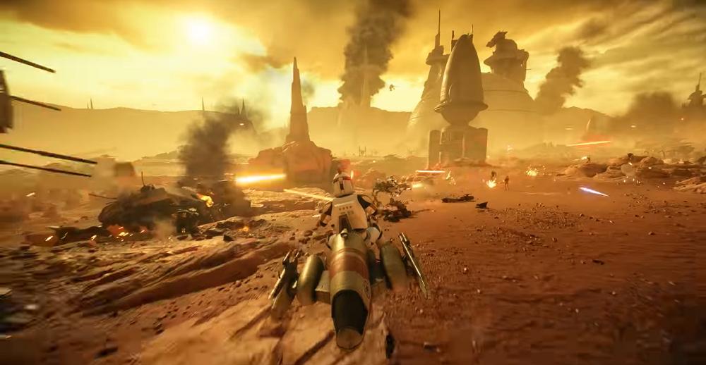 Star Wars Battlefront II: Battle of Geonosis