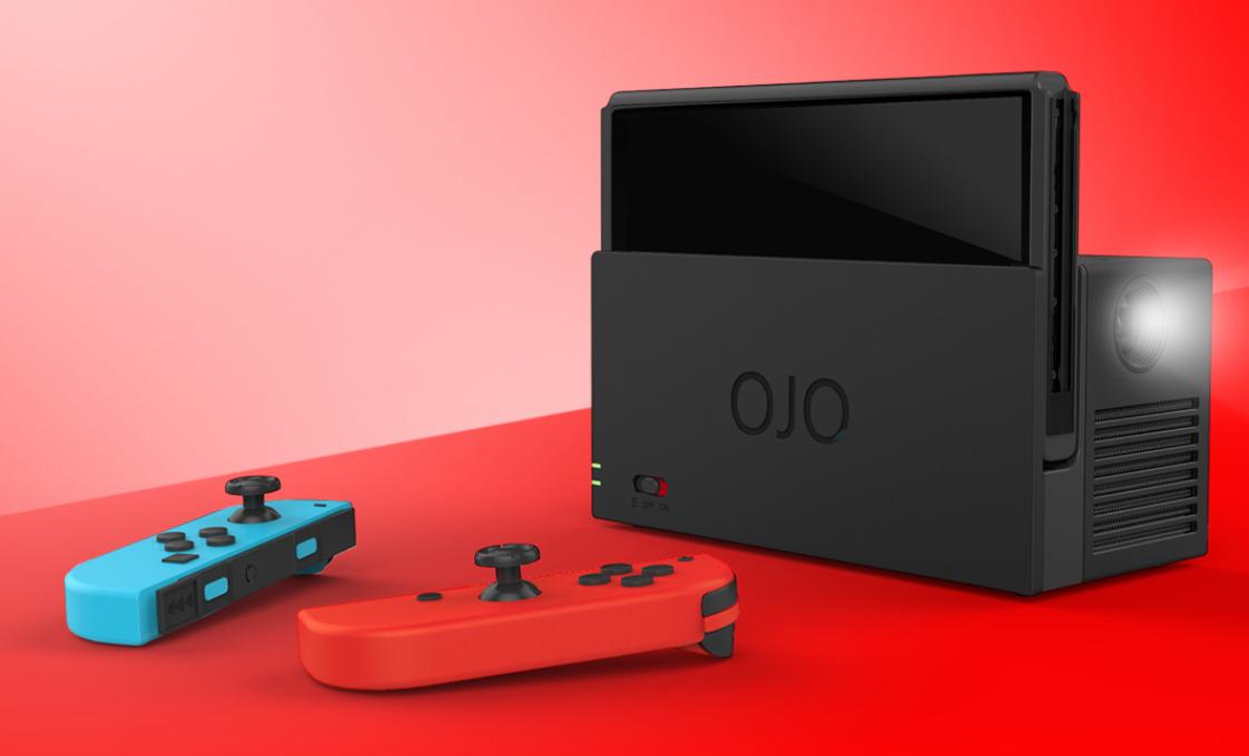 OJO Nintendo Switch Projector