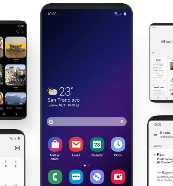 Samsung One UI Android 9 Pie