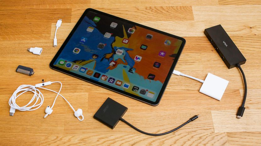 hyperdrive usb c hub for 2018 ipad pro the answer to all. Black Bedroom Furniture Sets. Home Design Ideas