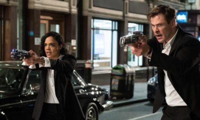 Hemsworth and Thompson in MIB: International