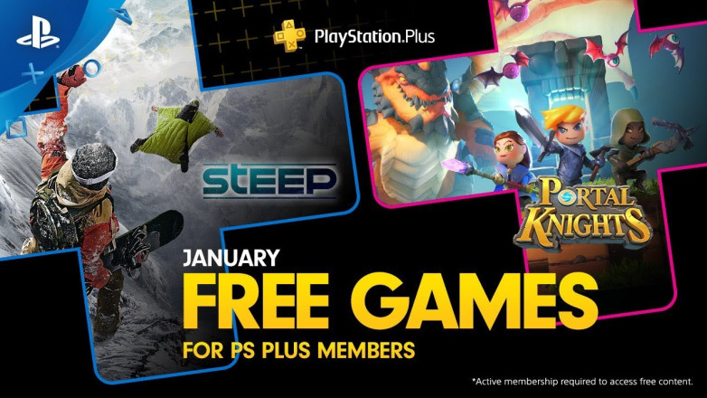 PlayStation Plus January 2019 Free Games Revealed