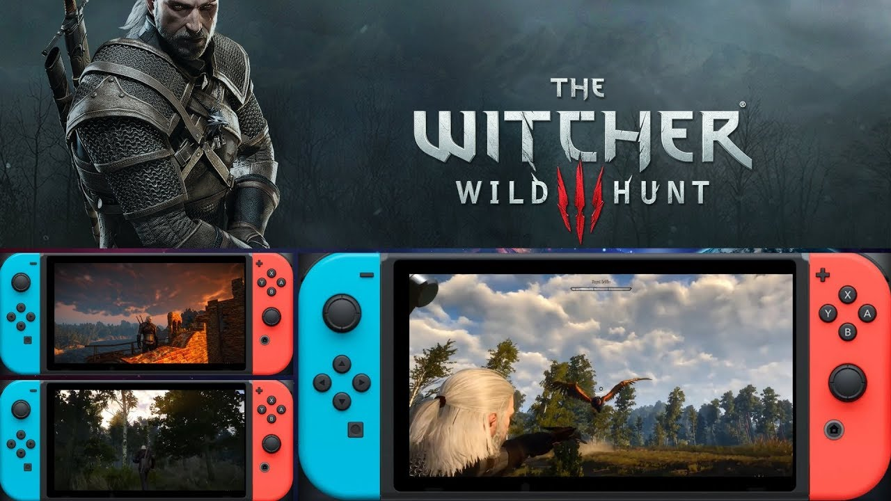 The Witcher 3 Switch is Being Listed by a Major French Wholesaler