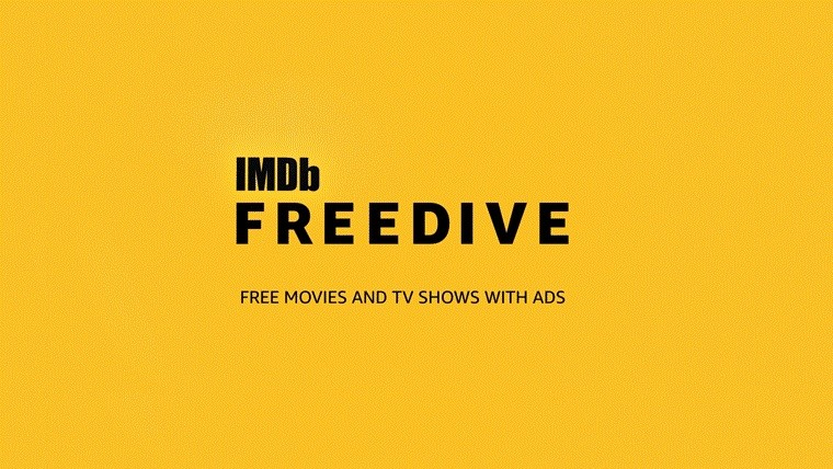 IMDb is Entering the Streaming Arena with 'FREEDIVE'