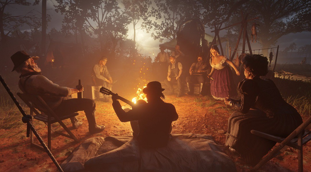 Red Dead Redemption 2: Tips and Tricks, Part 2: Camps