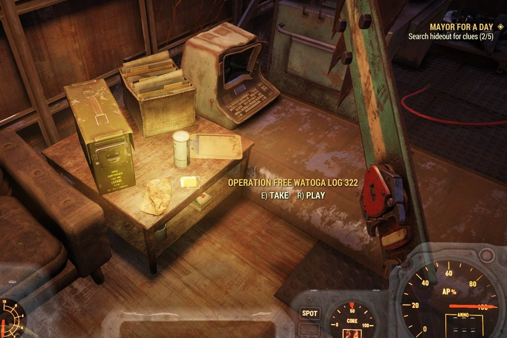 Fallout 76 - How To Get A Legendary Weapon From 'Mayor For A Day' Quest